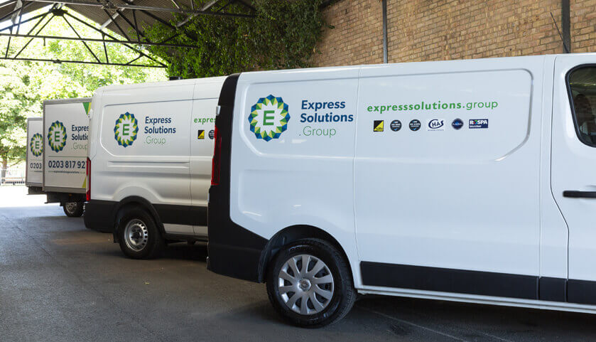Express Drainage Solutions Fleet
